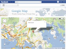 Social Google Map