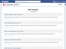 Social RSS Feed