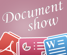 Social Document Show