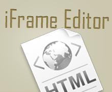 iFrame Editor